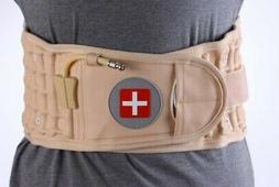 decompression belt back brace lumbar support dr ho air tract
