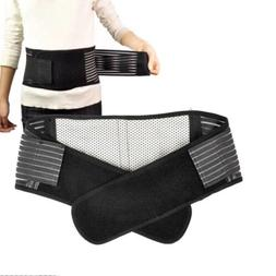 Deluxe Double Pull Magnetic Lumbar / Lower Back Support Belt