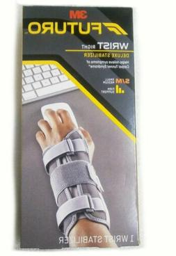 Futuro Deluxe Wrist Stabilizer, Helps Relieve Symptoms of Ca