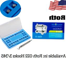 Dental Orthodontic Metal Bracket Self-ligating MINI Braces R