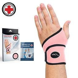 doctor developed pink wrist support