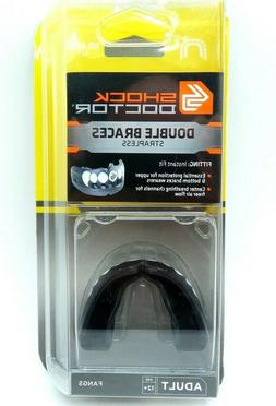 Shock Doctor Double Braces Mouth Guard Upper & Lower Teeth P