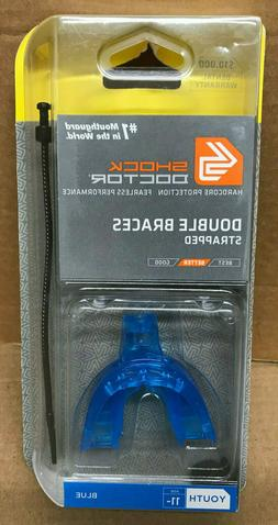 Shock Doctor Double Braces Strapped Mouthguard
