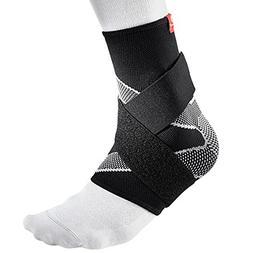 McDavid 4 Way Elastic Ankle Sleeve with Figure 8 Straps, Sma