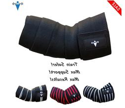 Elastic Elbow Wrap Arm Support Sleeve Brace Grip Straps Gym