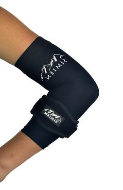 Elbow Brace & Sleeve Compression Combo - for Tennis Elbow, T