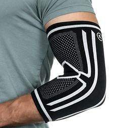 Elbow Compression Sleeve Support Brace for Tendonitis Arthri
