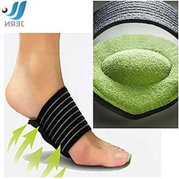 JERN Extra Thick Cushioned Compression Arch Support with Mor