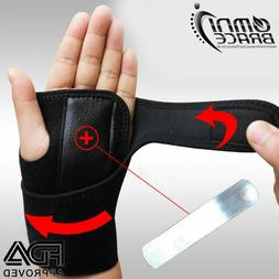 FDA Approved Neoprene Wrist Support Hand Brace  Carpal Tunne