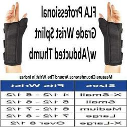 FLA Composite Wrist Splint w/ Abducted Thumb -SIZES AVAILABL