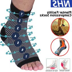 Foot Plantar Fasciitis Arch Support Compression Socks Ankle