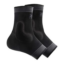 Protle Foot Socks Ankle Brace Compression Support Sleeve wit