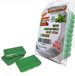 genuine orthowax packed mint scented