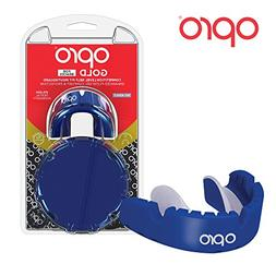 OPRO Gold Level Mouthguard for Braces for Ball, Combat and S