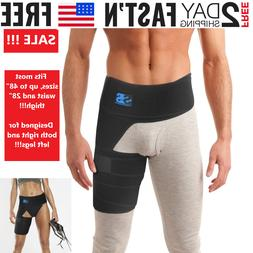 Hip Brace - Compression Groin Support Wrap for Sciatica Pain