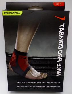 Nike Pro Hyperstrong Ankle Sleeve,XL New In Package