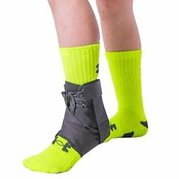 Kids Lace-Up Ankle Brace Figure 8 Foot Support Wrap for Sore