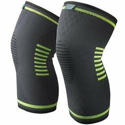 Sable Knee Brace Compression Sleeves 2 Piece FDA Approved, S