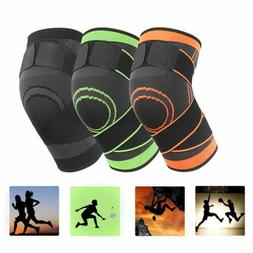 Knee Brace Sleeve Patella Support Stabilizer Sports Joint Pa
