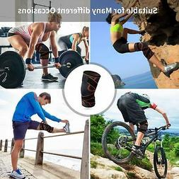 Knee Brace Strap Compression Support Sleeves Pain Relief for