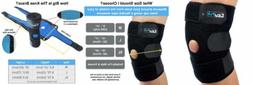 EzyFit Knee Brace Support Dual Stabilizers & Open Patella Ad