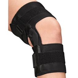 knee brace with metal support spot clean