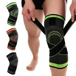 2*Knee Sleeve Brace Support Compression Patella Stabilizer S