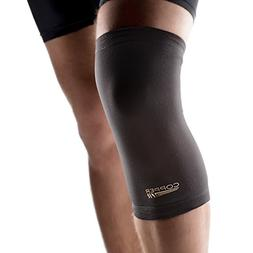 Copper Fit Original Recovery Knee Sleeve, Black with Copper