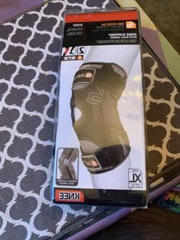 Shock Doctor Knee Support Brace with Dual Hinges - Black  Mo