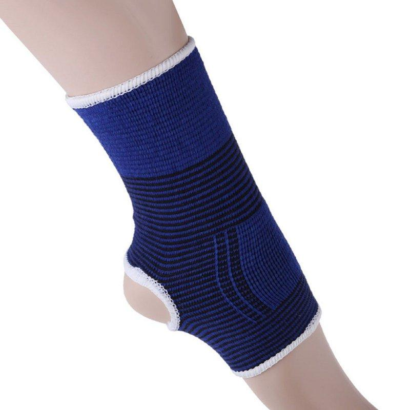 1 <font><b>Ankle</b></font> Support Sleeve Pullover Wrap Elastic Sleeve Bandage <font><b>Brace</b></font> Support Protection