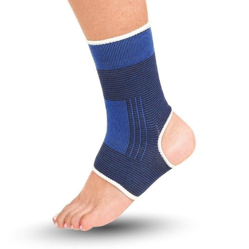 1 Foot Support Pullover Elastic Wrap Sleeve <font><b>Brace</b></font> Protection Relief