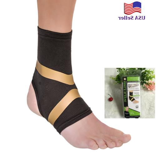 copper fit pro compression ankle sleeve arthritis