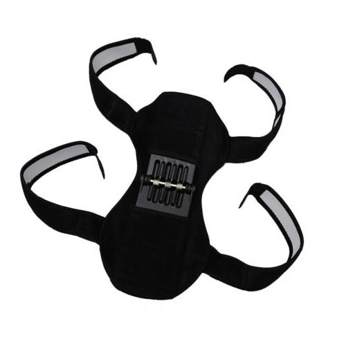 2pcs Power Spring Knee Support BL