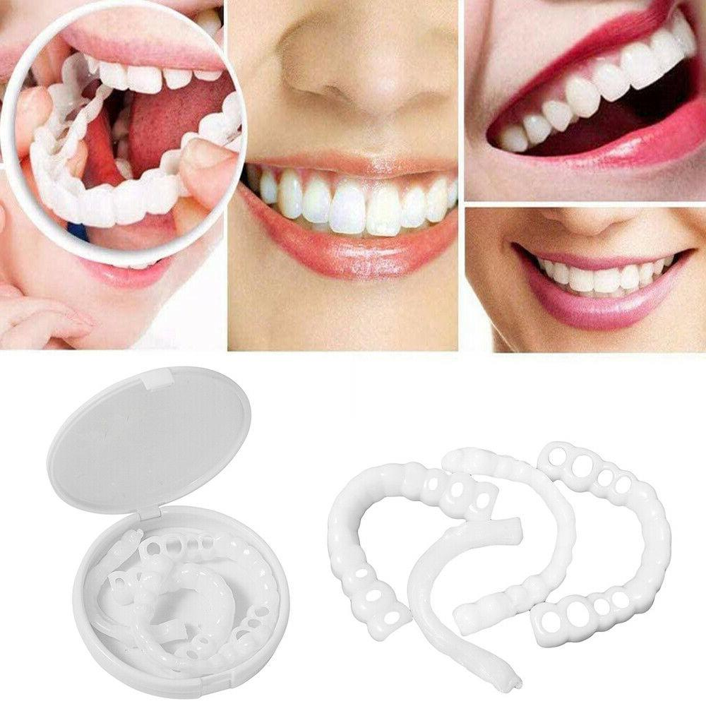 2pcs set Silicone Cover Teeth Whitening Cover Upper/Lower De
