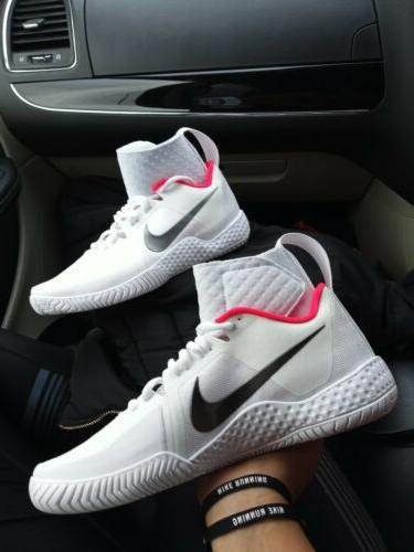 6 Womens Nike Air Court Flare QS brace shoes white red