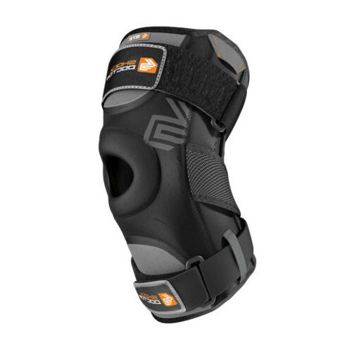872 knee support with dual hinges hinged