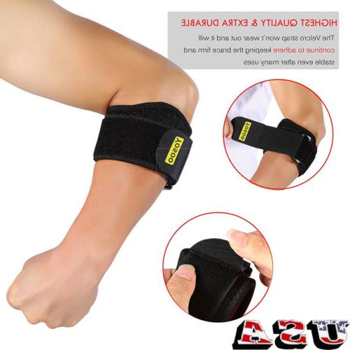 adjustable tennis elbow brace arm support straps