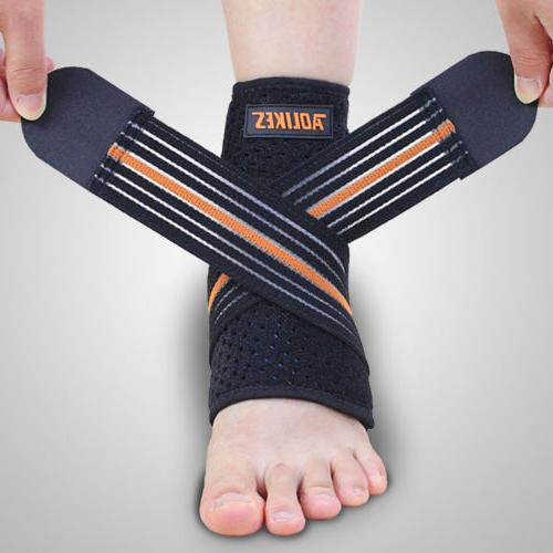 ankle brace and achilles tendon support wrap