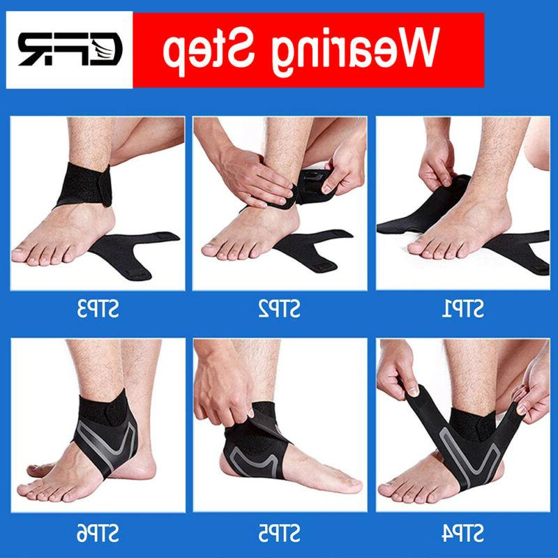 Ankle Brace Sleeve Fasciitis Pain Relief Wrap