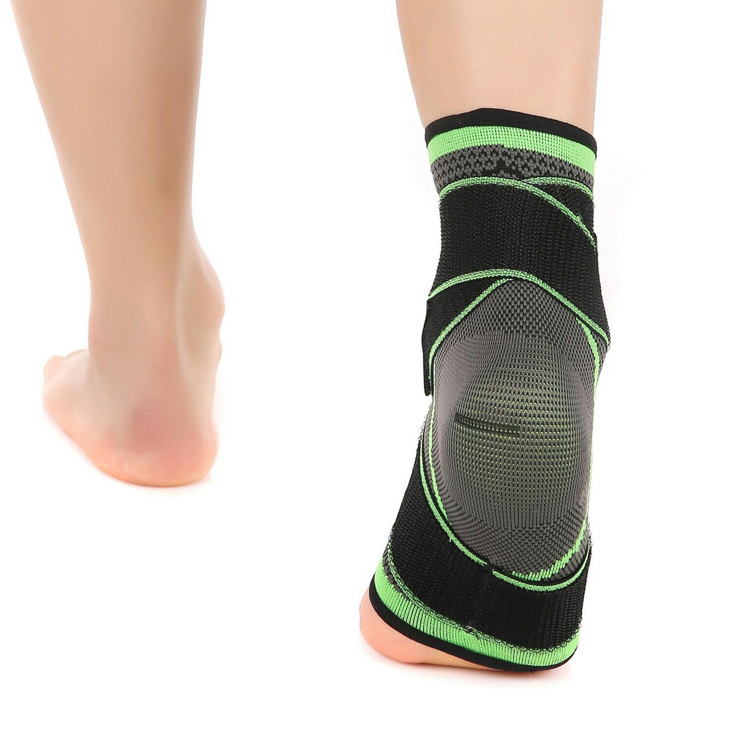2 Ankle Support Sock Plantar Pain Relief Wrap