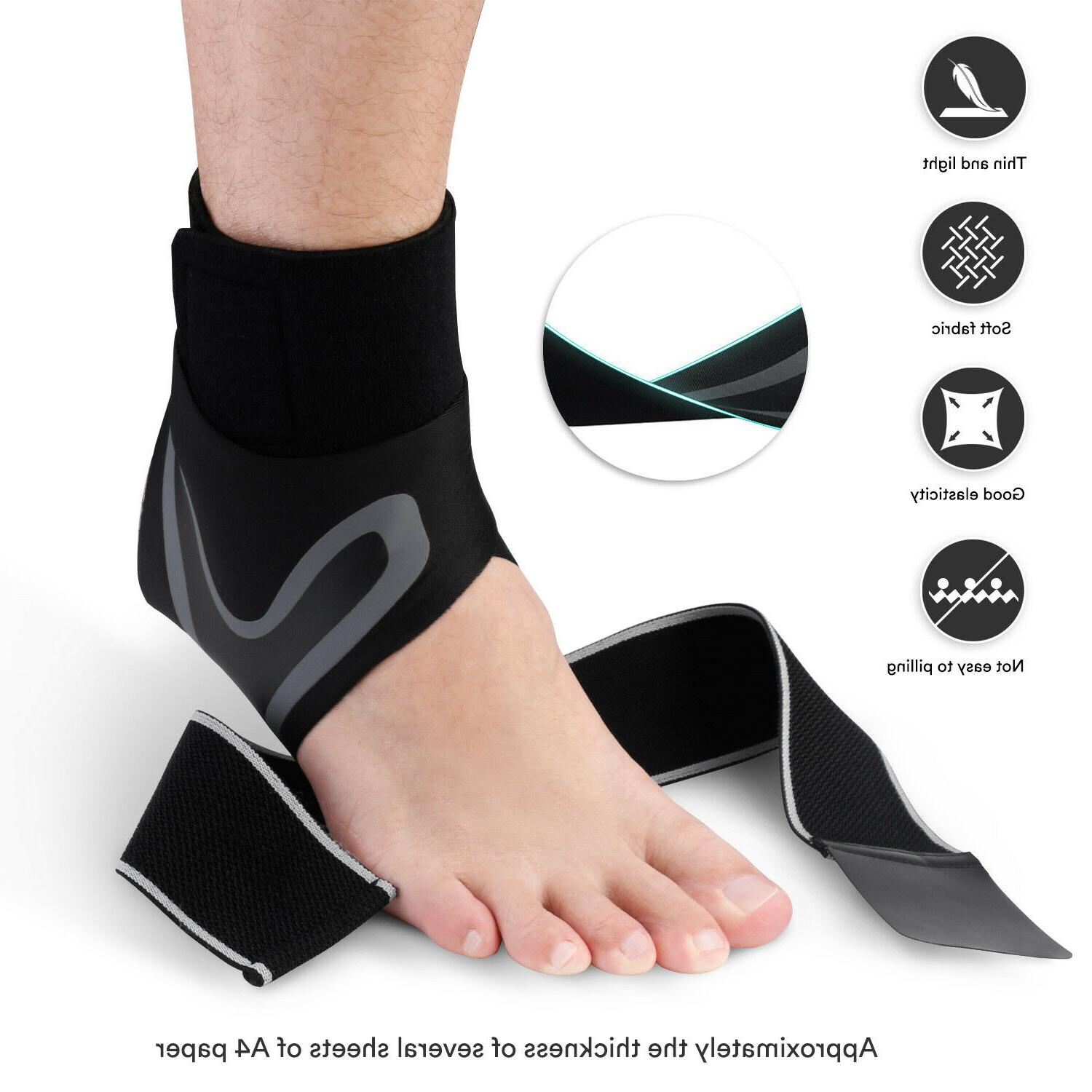 Ankle Brace Support Fasciitis Pain Relief Foot Wrap