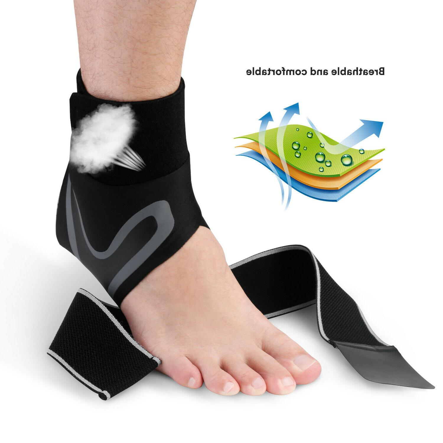 Fasciitis Pain Compression Foot Sleeve Wrap
