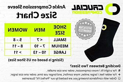 Ankle for & Women - Best Support Braces Pain Injury Achilles Tendon Heel Spur, Plantar Fasciitis Sock