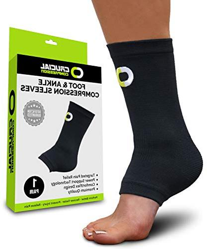 ankle brace support sleeve