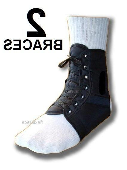 ankle brace support stabilizer lace up one