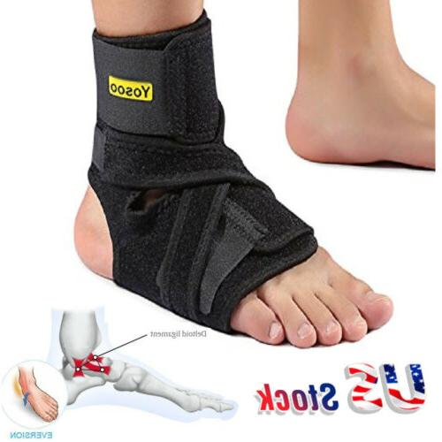ankle support plantar fasciitis brace stabilizer orthosis