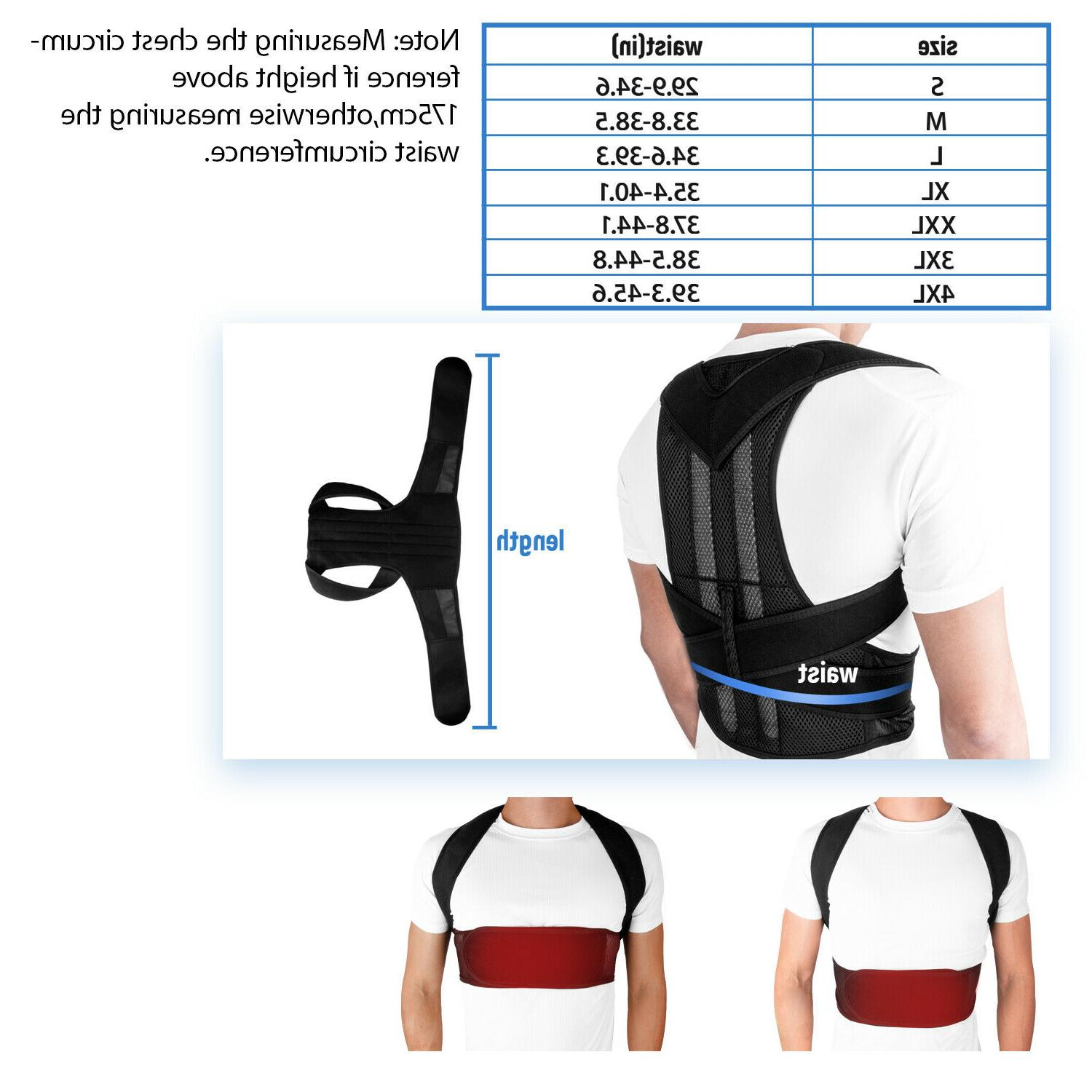 Back Posture Corrector Brace Therapy