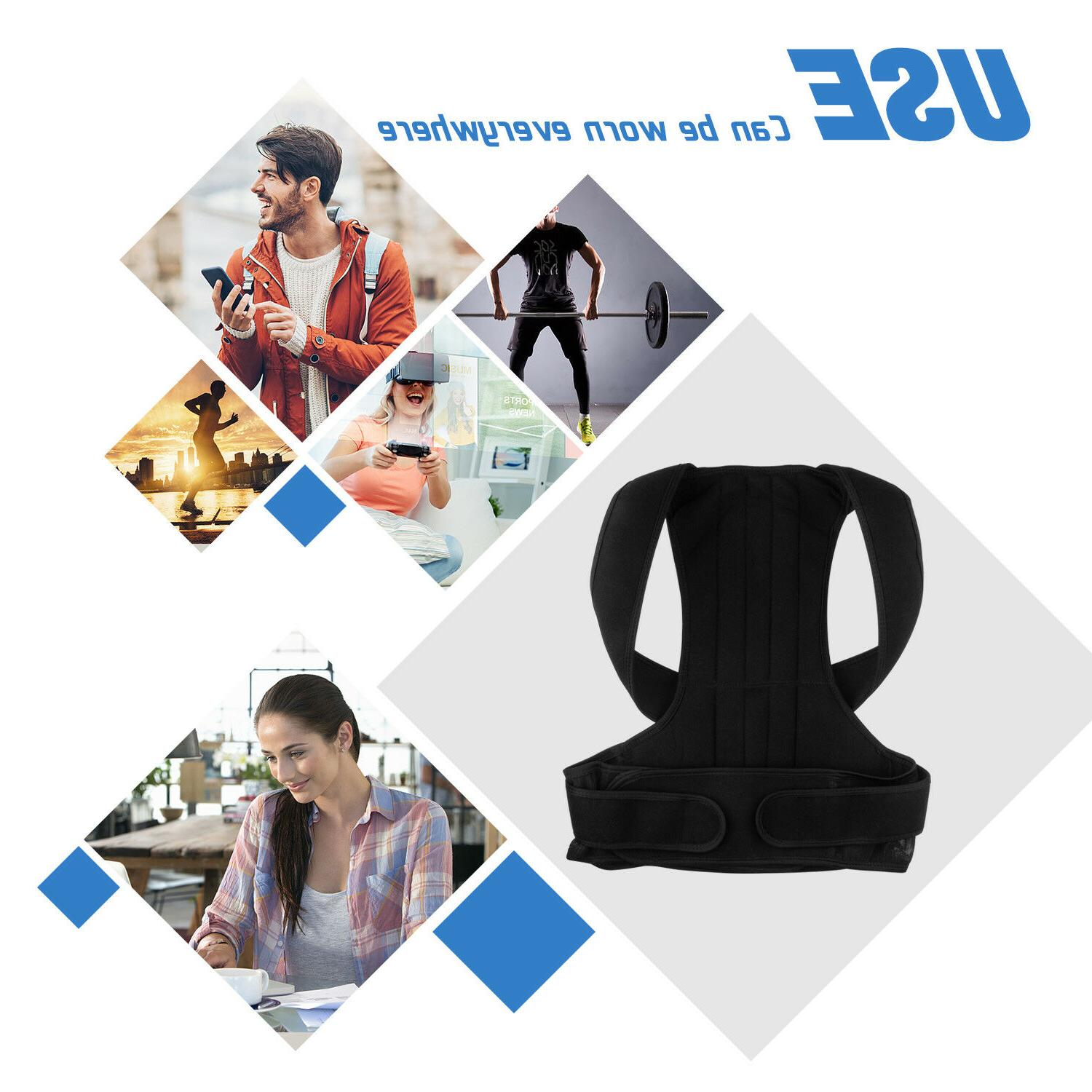 Back Posture Corrector Brace Therapy Men