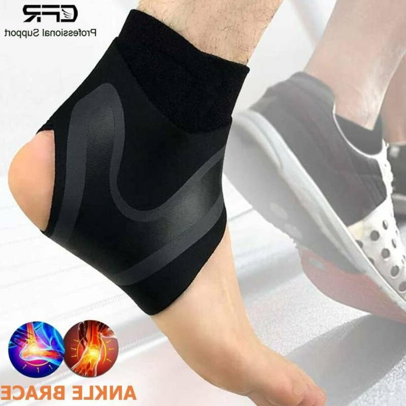 compression ankle support arch brace for relief