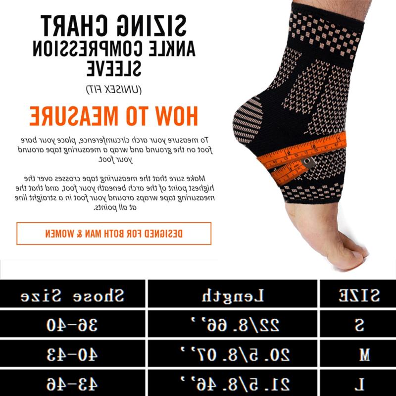 Copper Compression Sleeve Pain